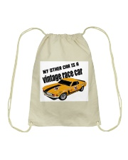 Boss 302 Trans Am Race car - SCCA - George Follmer Drawstring Bag thumbnail