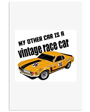 Boss 302 Trans Am Race car - SCCA - George Follmer 11x17 Poster thumbnail