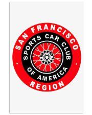 San Francisco Region SCCA sport car club Road Race 11x17 Poster thumbnail