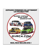 QVRCA official t-shirt Square Coaster thumbnail