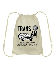 Vintage Trans Am Laguna Seca April 1970 -Road Race Drawstring Bag thumbnail