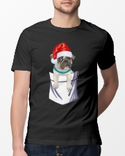 Pug lovers Premium Fit Mens Tee lifestyle-mens-crewneck-front-13