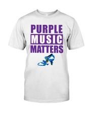Purple Music Matters Premium Fit Mens Tee thumbnail