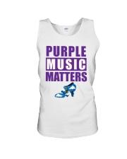 Purple Music Matters Unisex Tank thumbnail