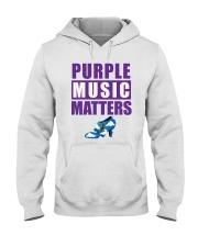 Purple Music Matters Hooded Sweatshirt thumbnail