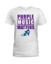 Purple Music Matters Ladies T-Shirt thumbnail