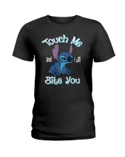 Touch Me and i will Bite You Ladies T-Shirt thumbnail