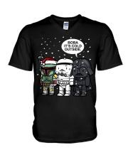 Boba Its Cold Outside V-Neck T-Shirt thumbnail
