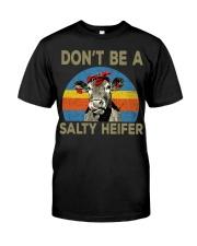 do not be a salty heifer Classic T-Shirt thumbnail