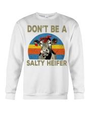 do not be a salty heifer Crewneck Sweatshirt thumbnail