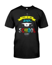 Back To School Shirt Funny Classic T-Shirt tile