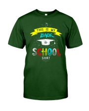 Back To School Shirt Funny Classic T-Shirt front
