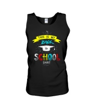 Back To School Shirt Funny Unisex Tank tile