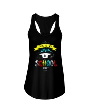 Back To School Shirt Funny Ladies Flowy Tank tile