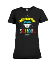 Back To School Shirt Funny Premium Fit Ladies Tee thumbnail