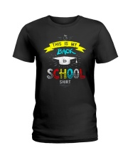 Back To School Shirt Funny Ladies T-Shirt tile