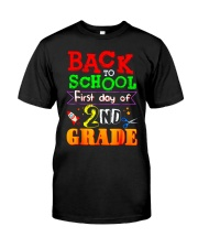 Back To School Shirt First Day Of 2nd Grade Shirt Classic T-Shirt thumbnail