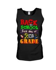 Back To School Shirt First Day Of 2nd Grade Shirt Unisex Tank thumbnail