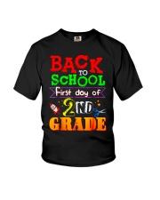 Back To School Shirt First Day Of 2nd Grade Shirt Youth T-Shirt thumbnail