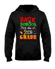 Back To School Shirt First Day Of 2nd Grade Shirt Hooded Sweatshirt thumbnail