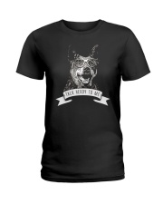 Australian Cattle Dog Talk Herdy To Me Ladies T-Shirt thumbnail