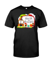 Back To School Shirt Funny Gift For Teachers Stude Classic T-Shirt front