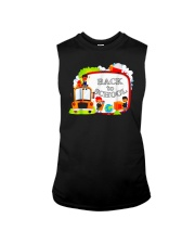 Back To School Shirt Funny Gift For Teachers Stude Sleeveless Tee thumbnail