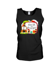 Back To School Shirt Funny Gift For Teachers Stude Unisex Tank thumbnail