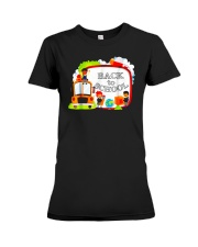 Back To School Shirt Funny Gift For Teachers Stude Premium Fit Ladies Tee thumbnail