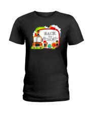 Back To School Shirt Funny Gift For Teachers Stude Ladies T-Shirt thumbnail