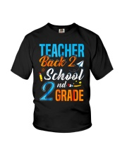 Back To School Shirt Funny For 2nd Grade Teacher Youth T-Shirt thumbnail