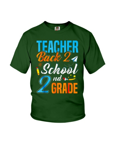 Back To School Shirt Funny For 2nd Grade Teacher