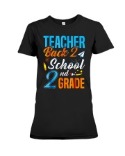 Back To School Shirt Funny For 2nd Grade Teacher Premium Fit Ladies Tee thumbnail