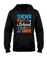 Back To School Shirt Funny For 2nd Grade Teacher Hooded Sweatshirt thumbnail