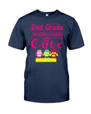 Back To School Shirt Second Grade Two Classic T-Shirt front