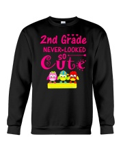 Back To School Shirt Second Grade Two Crewneck Sweatshirt thumbnail