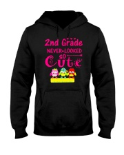 Back To School Shirt Second Grade Two Hooded Sweatshirt thumbnail