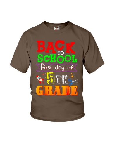 Back To School Shirt First Day Of 5th Grade Shirt
