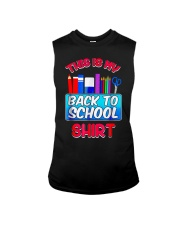 Back to School Shirt Teacher Shirt Student Sleeveless Tee thumbnail