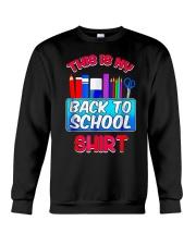 Back to School Shirt Teacher Shirt Student Crewneck Sweatshirt thumbnail