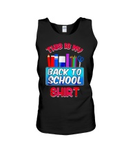 Back to School Shirt Teacher Shirt Student Unisex Tank thumbnail