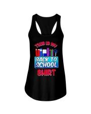 Back to School Shirt Teacher Shirt Student Ladies Flowy Tank thumbnail