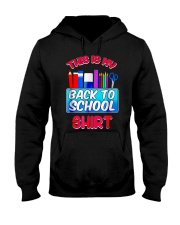 Back to School Shirt Teacher Shirt Student Hooded Sweatshirt thumbnail