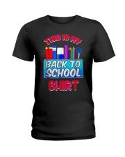 Back to School Shirt Teacher Shirt Student Ladies T-Shirt thumbnail