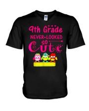 Back To School Shirt Ninth Grade V-Neck T-Shirt thumbnail