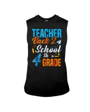 Back To School Shirt For 4th Grade Teacher Stude Sleeveless Tee thumbnail