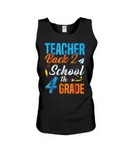 Back To School Shirt For 4th Grade Teacher Stude Unisex Tank thumbnail
