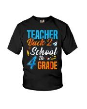 Back To School Shirt For 4th Grade Teacher Stude Youth T-Shirt thumbnail