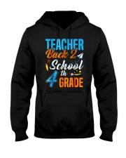 Back To School Shirt For 4th Grade Teacher Stude Hooded Sweatshirt thumbnail