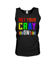 Back to School Shirt Get Your Cray On Unisex Tank thumbnail